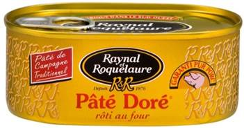 Pêté doré Raynal et RoquelaurePêté doré Raynal et Roquelaure
