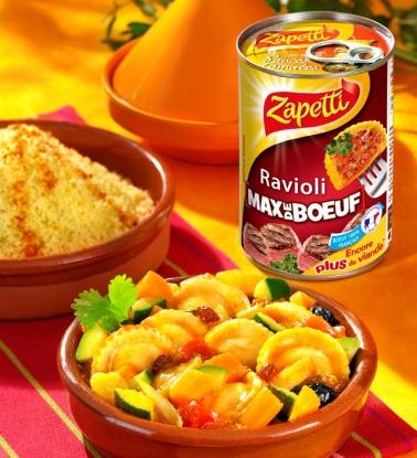 Zapetti-Ravioli Max Bolognaise-Tajine MONTAGE INT