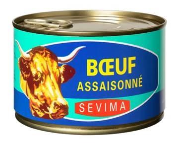 Boeuf assaisonné SEVIMA
